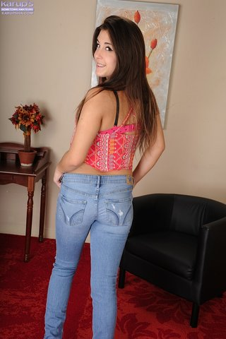 first sexy bra