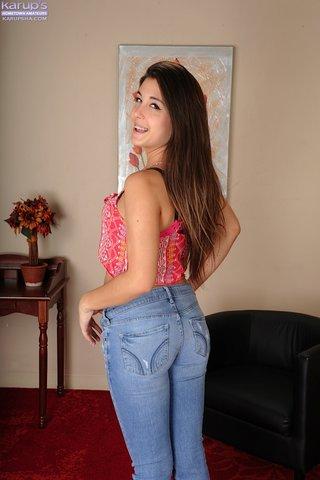 stripping teen amateur lingerie