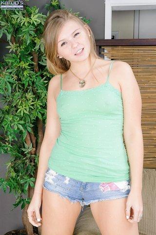amateur blonde lingerie