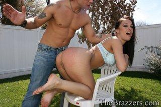 big booty pussy spanking
