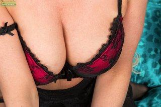 british stripping beautiful mom