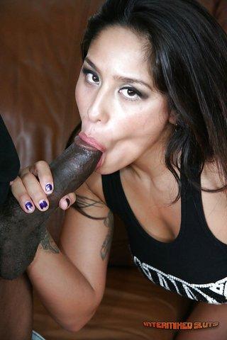 big tits latina interracial