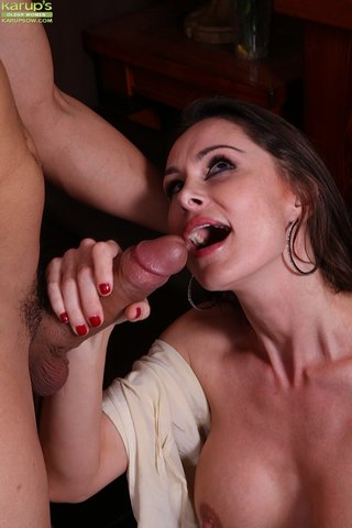 polish seductive european mom