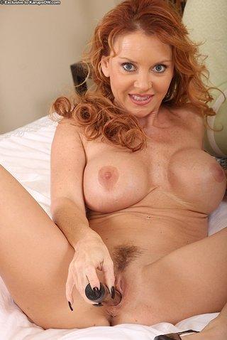 toned mom redhead