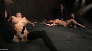 tied american slave