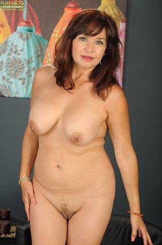 polish mature mom redhead
