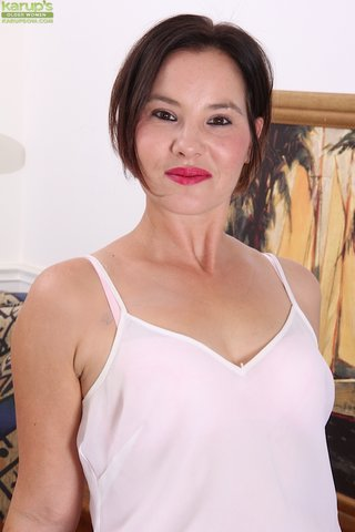 beautiful asian mature
