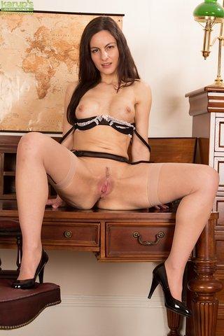 british sexy secretary