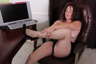 british chubby hot brunette