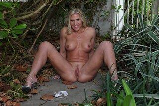 stripping mature garden