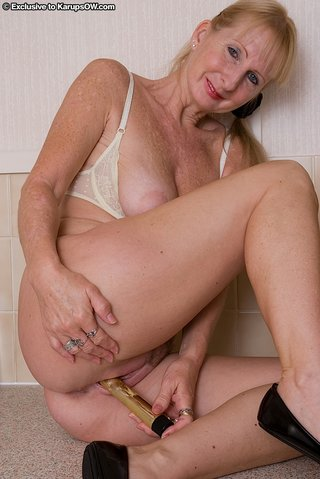 ugly mature lingerie anal