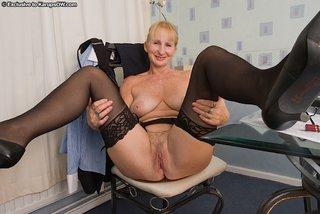 saggy tits sexy granny
