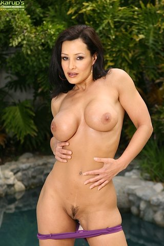 stripping hot brunette milf