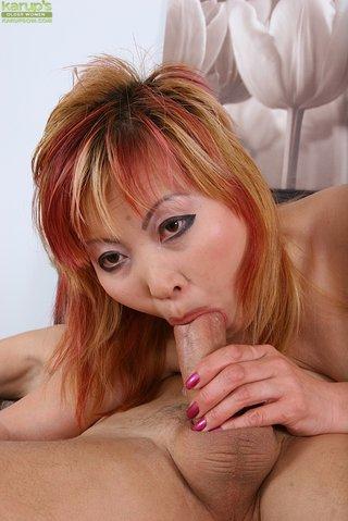 chubby hot asian mom