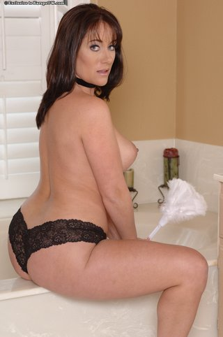 hot beautiful maid