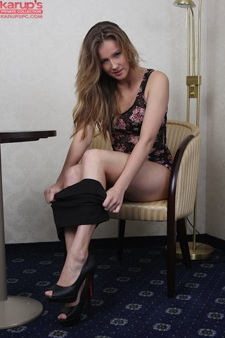 latvian young blonde amateur