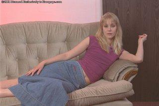 blonde teen tight lingerie