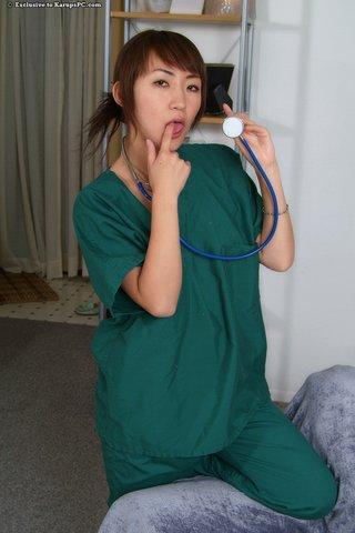tight amateur nurse