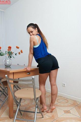 latvian young girl dildo