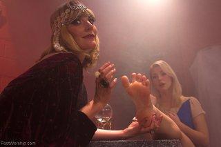 barefoot foot worship