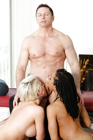 super massage threesome