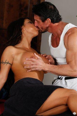 busty tight massage