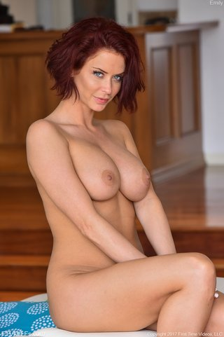perfect busty redhead