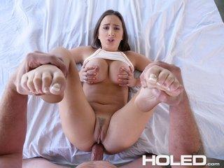 busty anal cum