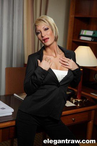 hungarian mature business woman