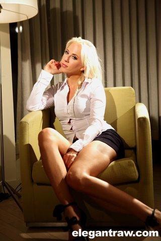 czech sexy petite blonde