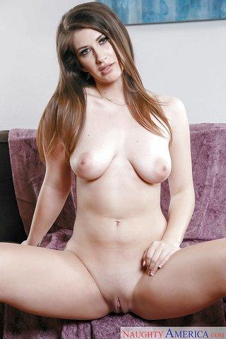 brunette wife lingerie