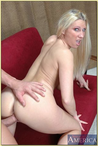 blonde couch fuck