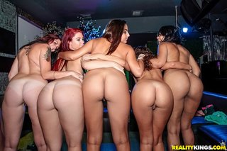 small tits lesbian humping