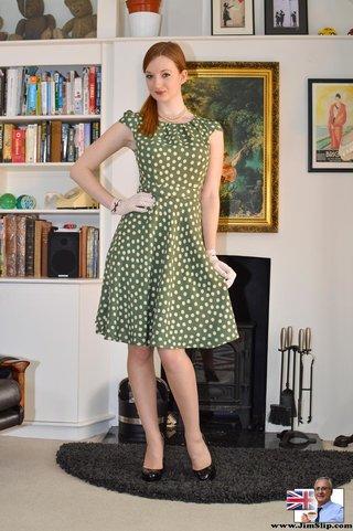 british retro stockings