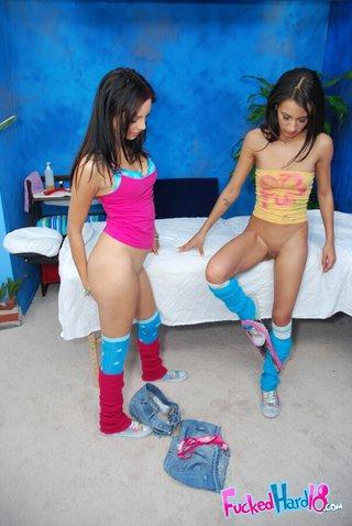 naked teen stockings