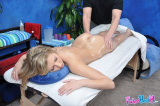 hardcore massage therapist