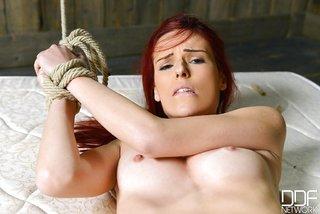 russian petite lesbian tied