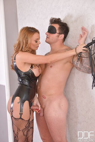 british bondage blindfold