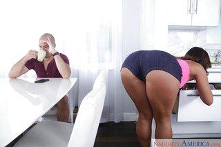 big tits penis