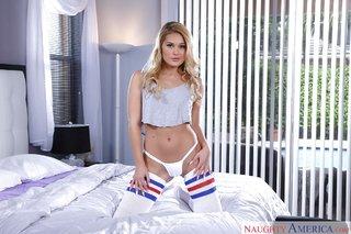 moms blonde panties
