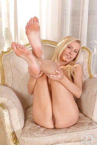 czech pretty sexy blonde