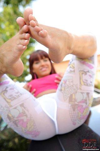 russian cute foot