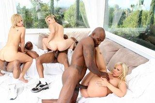 interracial mature group