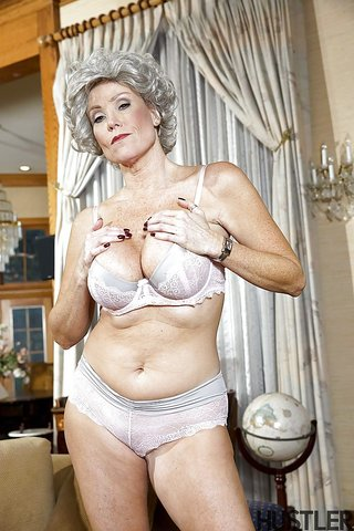 stripping mature granny
