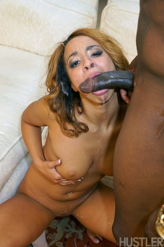 ebony deepthroat