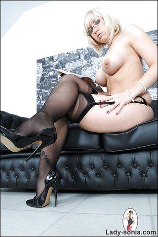 british black stockings milf