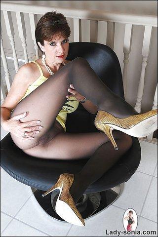 pantyhose femdom