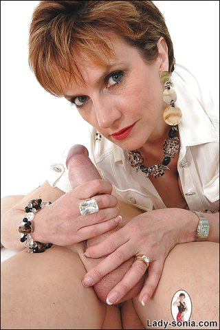 mature massage handjob