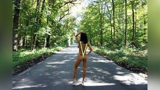 athletic mature striptease