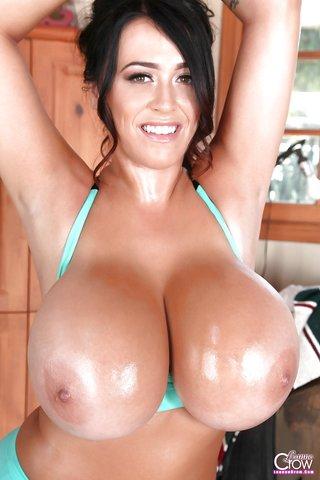 topless latina oil